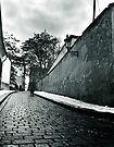 A street in Prague by bbtomas