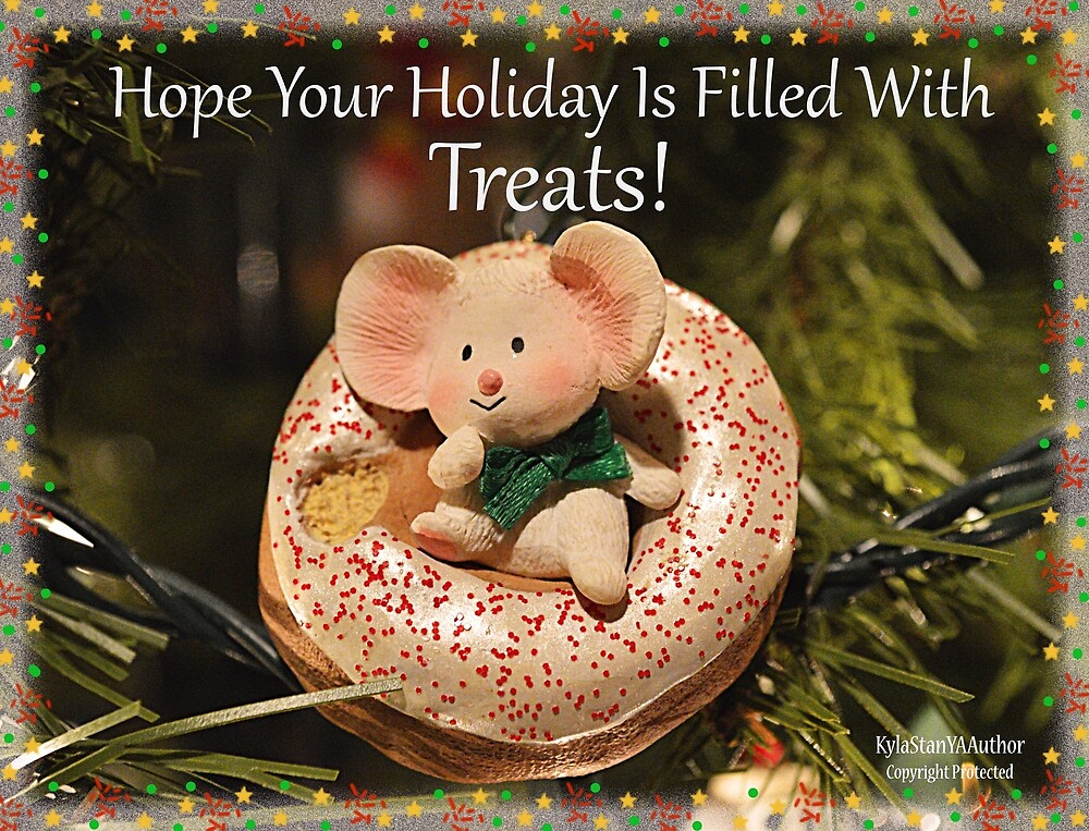 Holiday Mouse by KylaStanAuthor