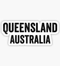 Australia, Queensland Sticker