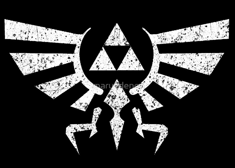Zelda Triforce Symbol by maryedenoa