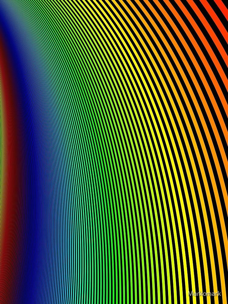 Rainbow Stripes by Markomark