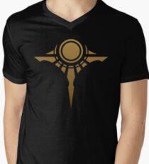 SHURIMA CREST - LEAGUE OF LEGENDS Men's V-Neck T-Shirt