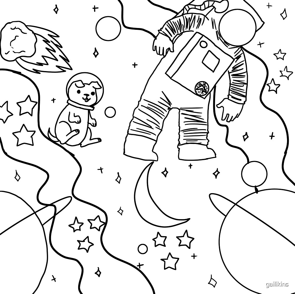 Space Doodles by gailikins