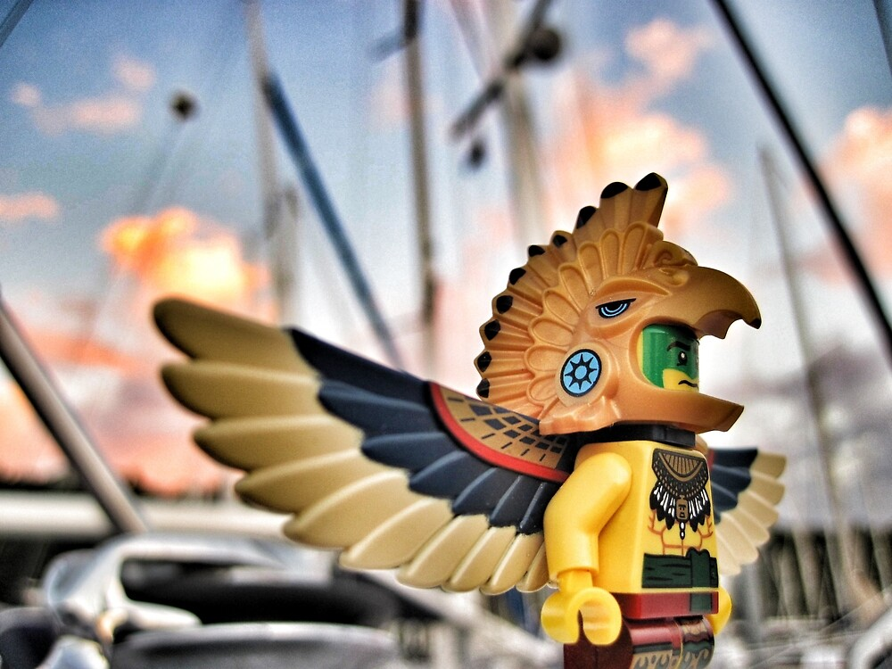 Bird-man (1 of 3) by bricksailboat