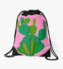 Cacti Drawstring Bag