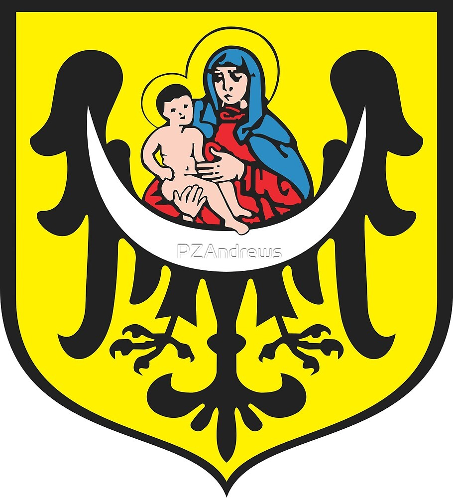 Coat of Arms of Lubin, Poland by PZAndrews
