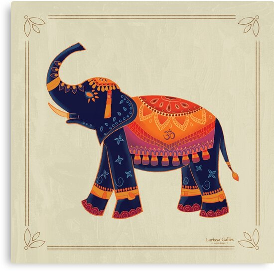 Elephant by larissagalles