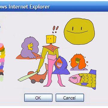 windows internet explorer error by keije