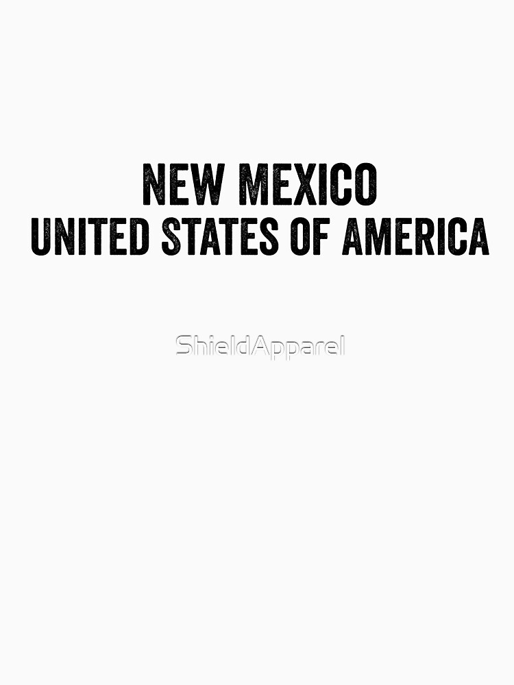 United States of America, New Mexico by ShieldApparel
