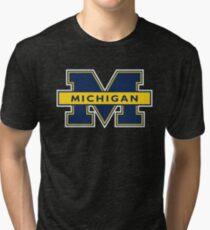 MICHIGAN WOLVERINES UNIVERSITY Tri-blend T-Shirt