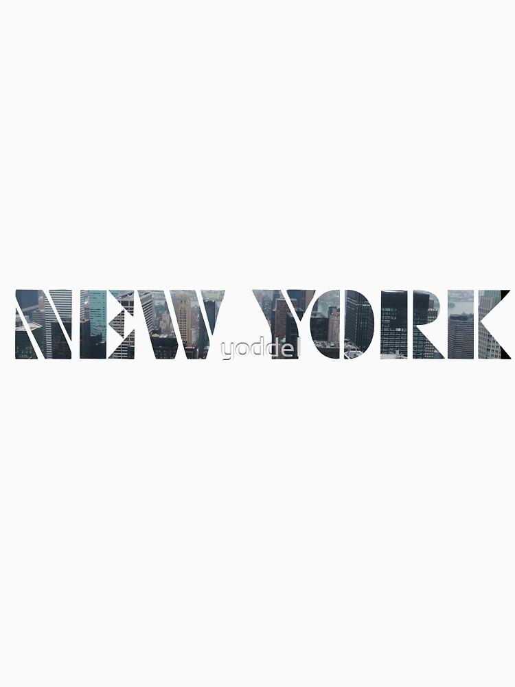 New York by yoddel