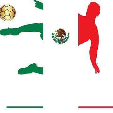 Mexico National Football Futbol by edamaya