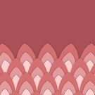 Flamingo Feather by Berker Sirman