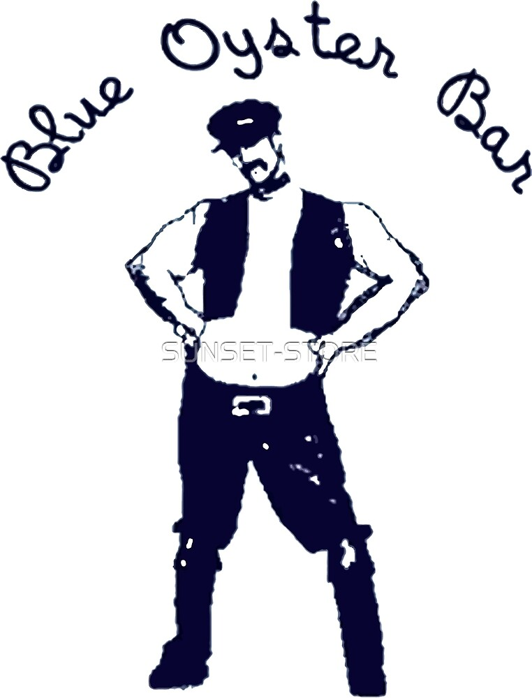 BLUE OYSTER BAR - POLICE ACADEMY MOVIE by SUNSET-STORE