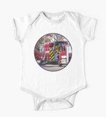 Fire and Rescue One Piece - Short Sleeve
