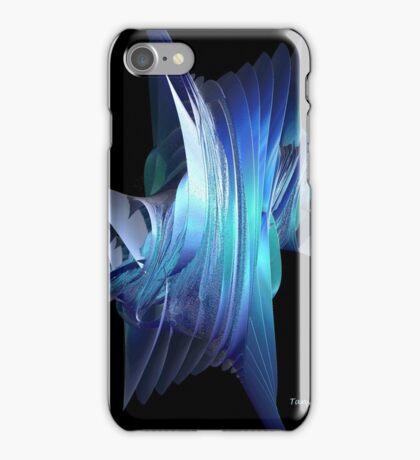 Incendia Blue iPhone Case/Skin