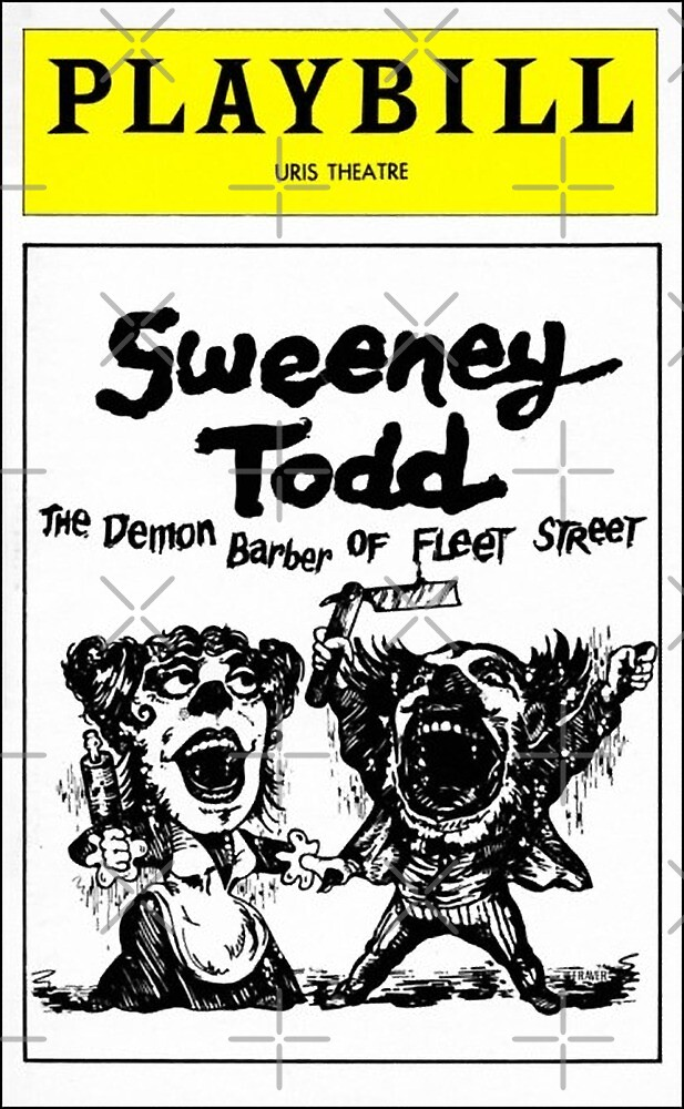 Sweeney Todd by piddle99