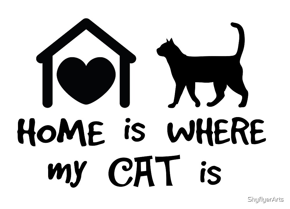 Home Cat by ShyflyerArts