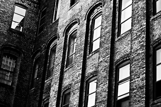 Old Office Building by NJC Photography