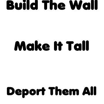 Anti-Illegal Immigrant Poem by PlanetVaster