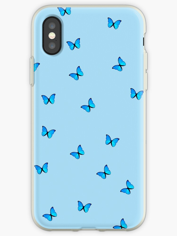 blue butterfly by lessiops