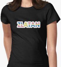 Sverige / USA / Zlatan (bold) Women's Fitted T-Shirt