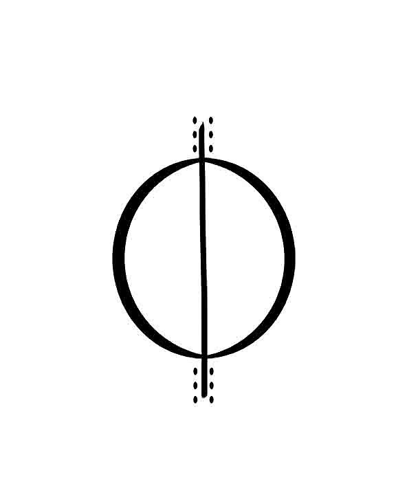 Minimalist Circle by marciapoloski