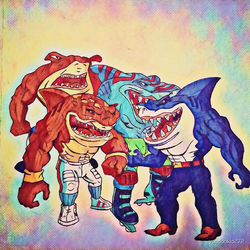 Street Sharks by voodookid272
