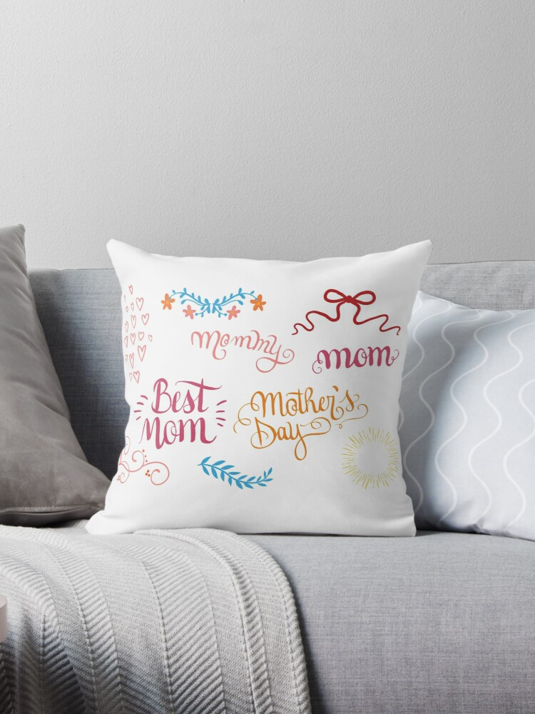 Happy Mother's Day Pillows by janio