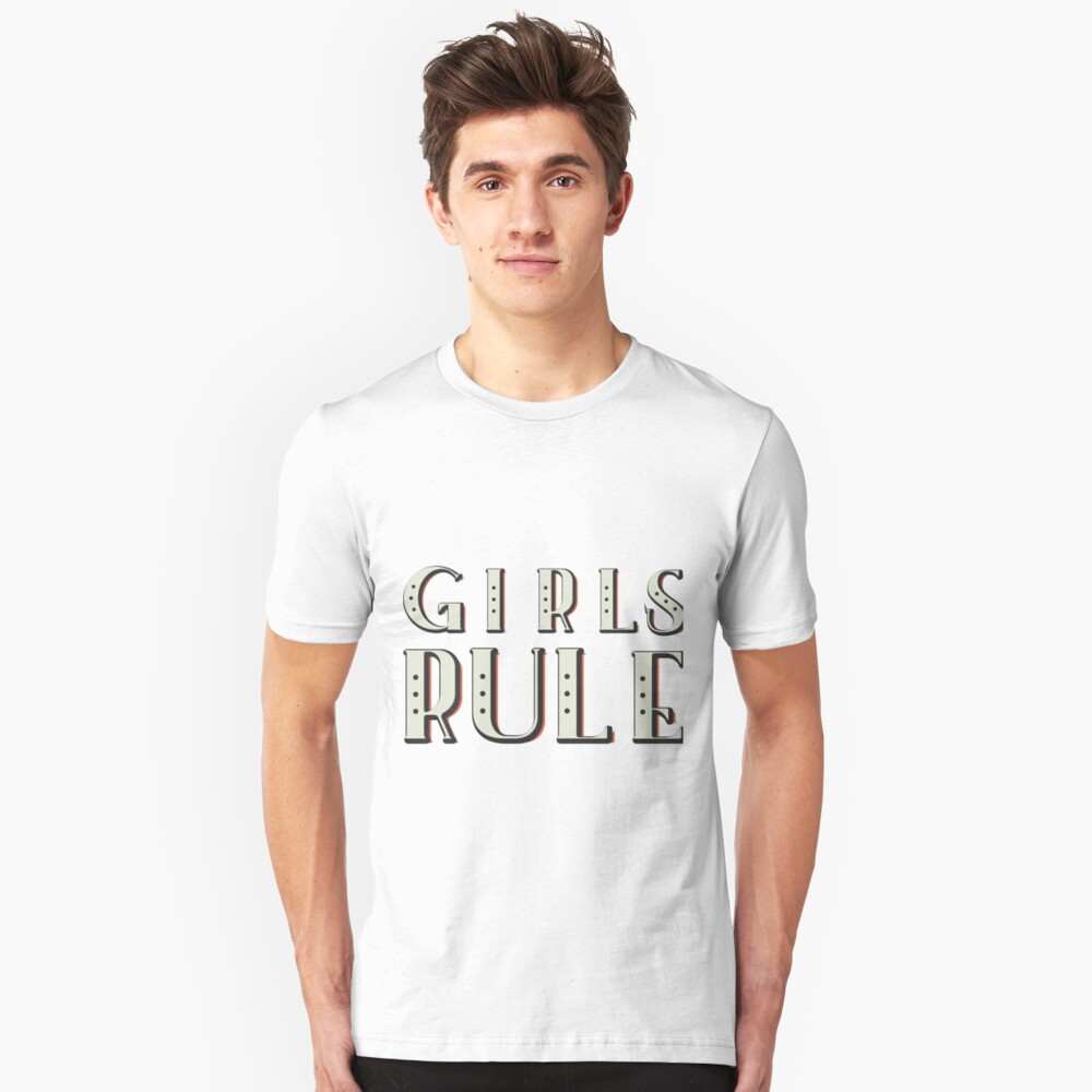 Girls Power Unisex T-Shirt Front