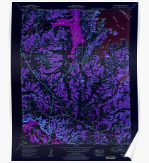 USGS TOPO Map Kentucky KY Briensburg 708230 1955 24000 Inverted Poster