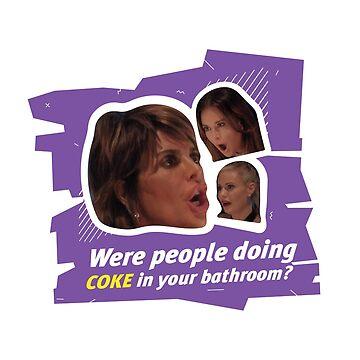 Coke in the Bathroom? by mkarap