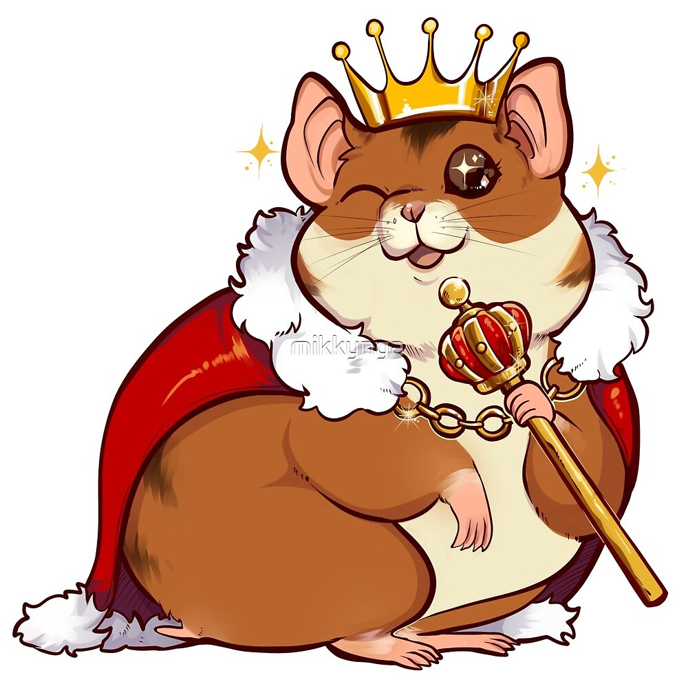 Hamster king by mikkynga