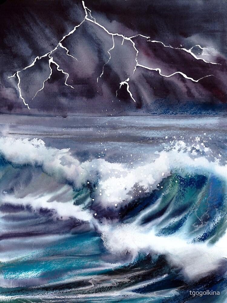 Stormy Ocean by tgogolkina