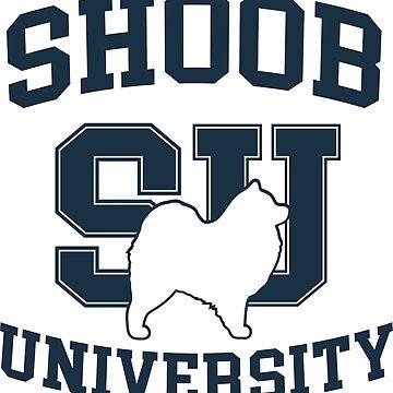 Shoob University Athletics by ryderthesamoyed