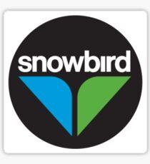 Snowbird Ski Resort Logo Sticker