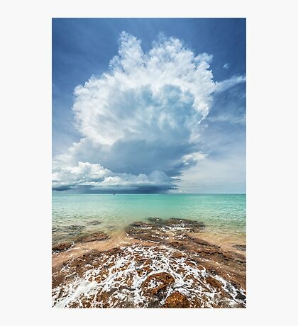 Crazy Stormcloud Photographic Print