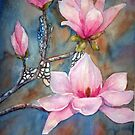 Spring Magnolia von bevmorgan