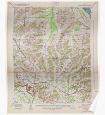 USGS TOPO Map Kentucky KY Briensburg 803361 1938 24000 Poster