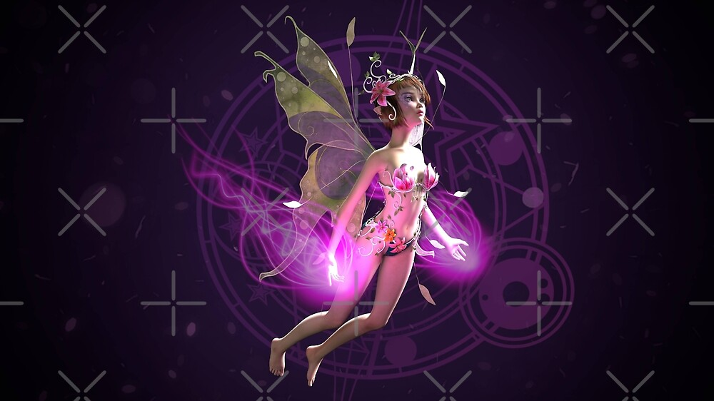 Purple magical fairytale  by Lefteris Betsis