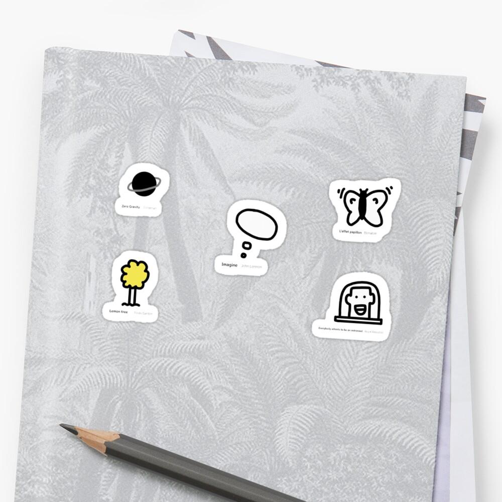 Mini Stickers by Benybenoit