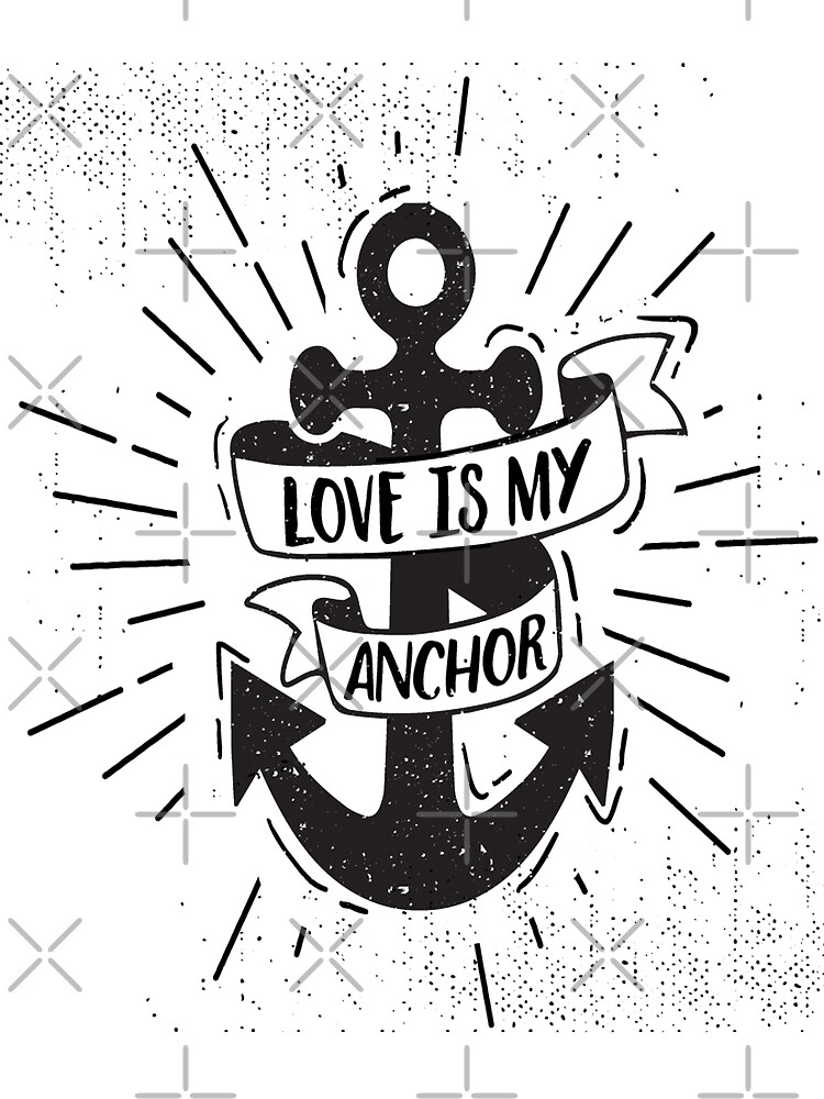 Love is my Anchor T-shirt , Unisex tshirts , tops and tees  by anodyle