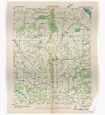 USGS TOPO Map Kentucky KY Briensburg 803362 1936 24000 Poster