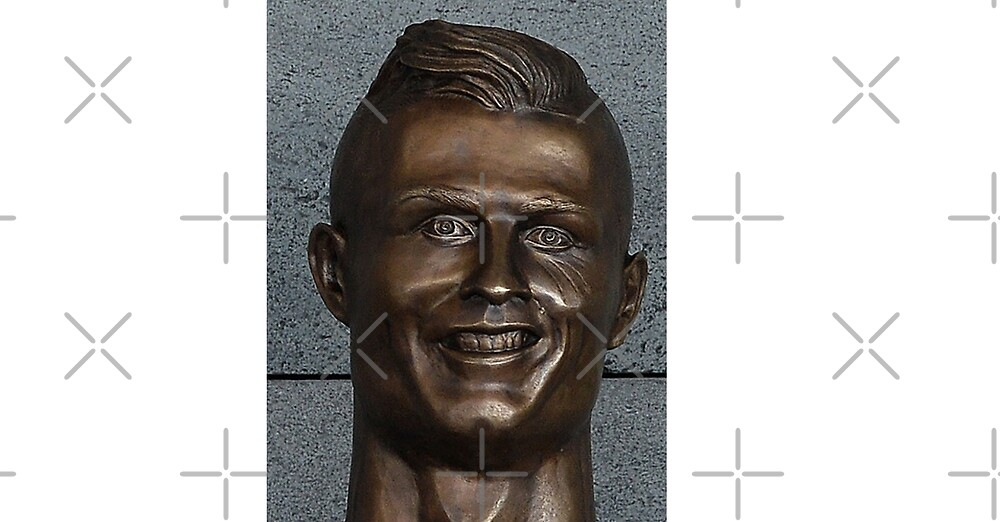 Cristian Ronaldo football fan funny supporter art design by Desire-inspire
