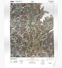 USGS TOPO Map Kentucky KY Briensburg 20100409 TM Poster