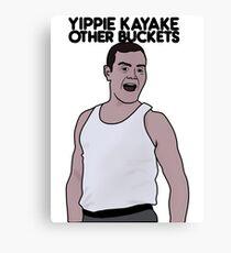 Brooklyn 99: Yippie Kayak Other Buckets Canvas Print