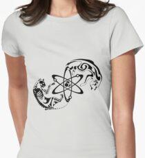 Schrodinger cat Women's Fitted T-Shirt