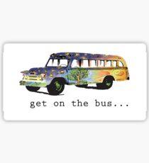 Hippie Bus Sticker