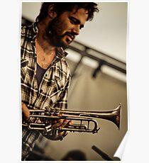 Harry's Trumpet Poster