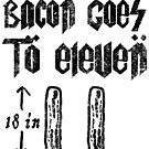 Funny Bacon Strips Go to Eleven Stonehenge by electrovista